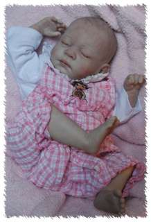 ooak doll lifelike fake art ARTIST Baby CUSTOM Michelle Fagan