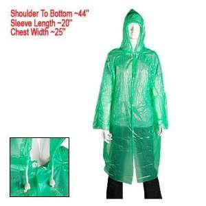 Disposable Emergency Plastic Raincoat Rain Coat Adult: Everything Else
