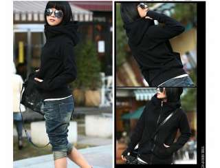 Long Sleeve Hoodie Casual Coat Outerwear Autumn Winter Jacket
