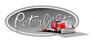 PETERBILT vinyl cut sticker decal 6 (full color)