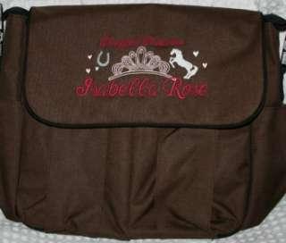 Personalized Baby Diaper bag 4 bag colors Jungle Safari