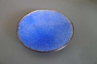 Vtg Mid Century Germany PERLI enameled 6 small plates