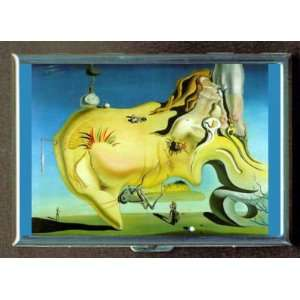 DALI MASTURBATOR ID Holder, Cigarette Case or Wallet: MADE IN USA