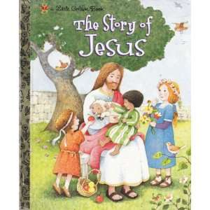 The Story of Jesus (Little Golden Book) Jane Werner Watson Books