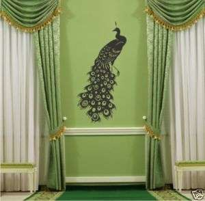 Peacock   Vinyl Wall Decal Sticker Art