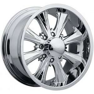Panther Juice 8 18x8.5 Chrome Wheel / Rim 6x4.5 with a 14mm Offset and
