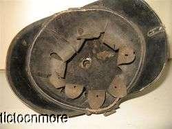 WWI GERMAN PRUSSIAN M1895 FIELD ARTILLERY METAL PICKELHAUBE SPIKED
