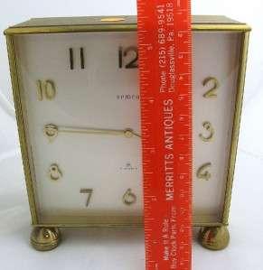 Double Sided Partners Clock SEMCA Brass 7 jeweled # 280