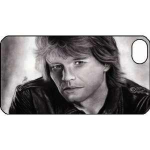 Bon Jovi iPhone 4 iPhone4 Black Designer Hard Case Cover