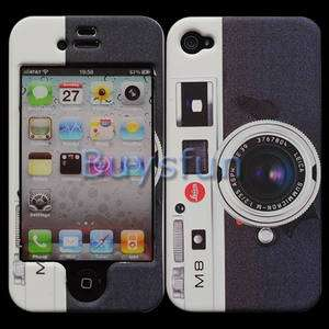 Classic Camera Paint Matt Finish Hard Cover Case Skin for Apple iPhone