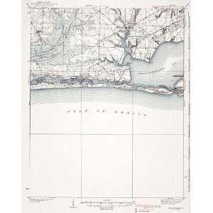 USGS TOPO MAP MARY ESTHER QUAD FLORIDA (FL) 1938
