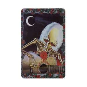 Collectible Phone Card 50u Grateful Dead Dead Serenade Artwork by