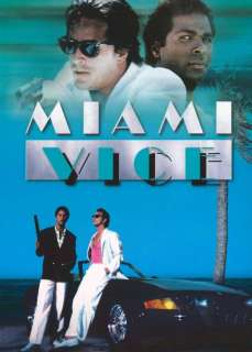 Miami Vice (TV) (1984) 27 x 40 Movie Poster Style E