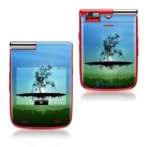 Flying Tree Blue Design Protective Skin Decal Sticker