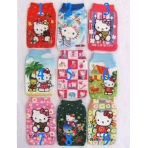 hot 30pcs/lot hello kitty design mobile phone handbag holder /4 bag
