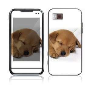 Animal Sleeping Puppy Decorative Skin Cover Decal Sticker