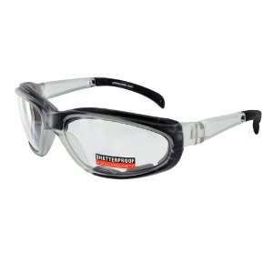 Pagos 2 Foam Padded Safety Glasses With Prescription ANSI
