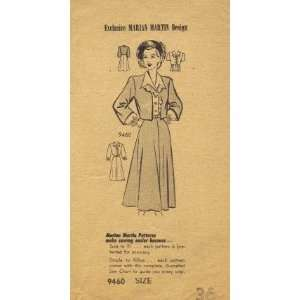 Marian Martin 9460 Sewing Pattern Blouse Skirt Bolero Bust