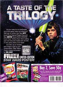 FRITO LAY STAR WARS TRILOGY SALES SHEET/COUPON