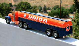MILLER UNION 76 TANKER WITH RETRACTABLE FUELING HOSES MINT NEW