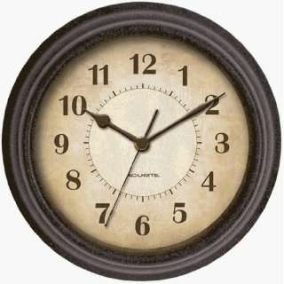 Chaney 46037 Plastic Frame Wall Clock Home & Kitchen