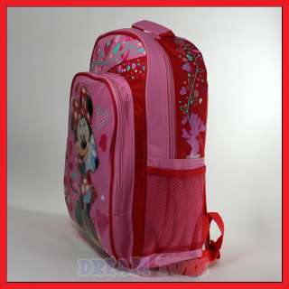 Disney Minnie Mouse Oh My 16 Backpack   Book Bag School Girls