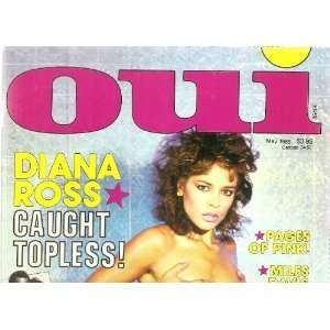 OUI MAGAZINE     MAY 1985 ISSUE: OUI: Books