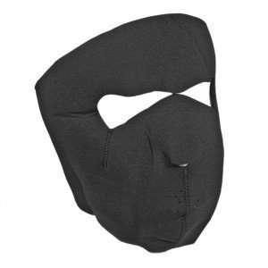 Black Neoprene Full Face Masks Toys & Games
