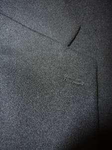 NORM THOMPSON Black 100% CASHMERE Sport Coat Blazer 46 R