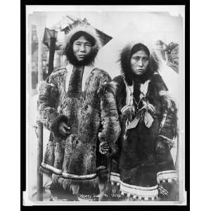 Happy Jack,wife,Eskimos,Traditional Dress,c1904,Nowell: Home & Kitchen