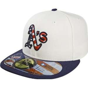 MLB Oakland Athletics Stars and Stripes Authentic On Field Game