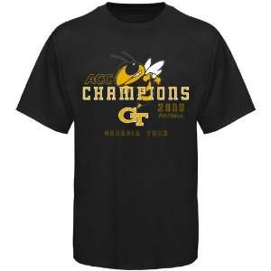 NCAA Georgia Tech Yellow Jackets Black 2009 ACC Champions