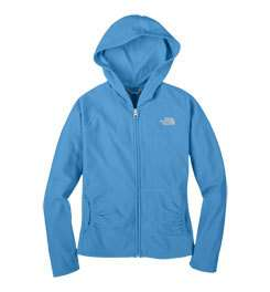 THE NORTH FACE Girls Glacier Full Zip Hoodie Blitz Blue