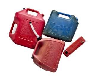 12 SPOUT SETS Fuel Gas Gasoline Container Can RubberMaid Gott Blitz