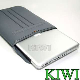 Grey Laptop Sleeve Bag for Macbook Dell HP Acer 15 15.6