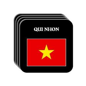 Vietnam   QUI NHON Set of 4 Mini Mousepad Coasters