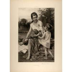 River Francois Alfred Delobbe   Original Photogravure: Home & Kitchen