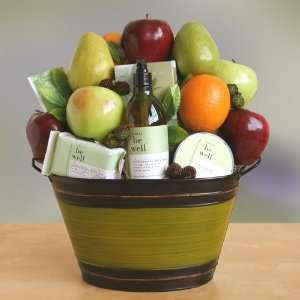 Spa Gift Basket  Great Mothers Day Gift Idea
