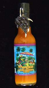 Tropigator Mango Habanero Hot Sauce Free Alligator Foot