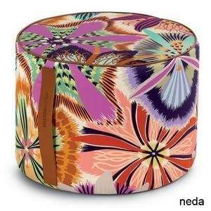 neda cylindrical pouf by missoni home: Home & Kitchen