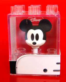 Mickey mouse earphones headphones plug ear cap iPhone iPod galaxy case