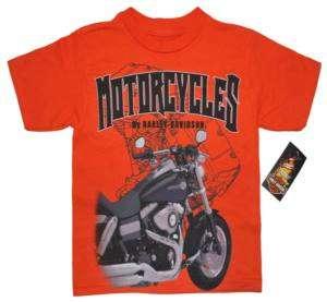 HARLEY® BOYS MOTORCYCLES SHORT SLEEVE T SHIRT 1081032