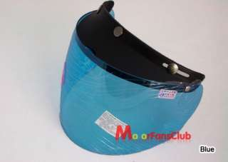 SNAP Motorcycle Helmet Visor Face Shield    Full Face Design(16cm