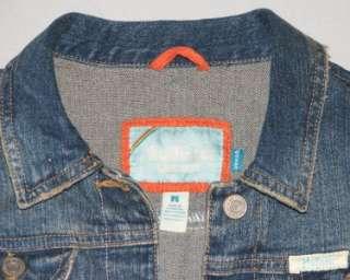 Hollister jean Stretch Jacket M medium Factory Blue Denim Cali HCo