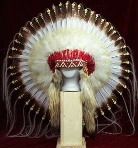 Native American 1875 Replica War Bonnet Headdress