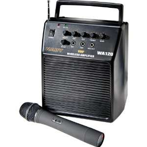 com WA 120HT Single Channel VHF Wireless Portable PA System With Hand