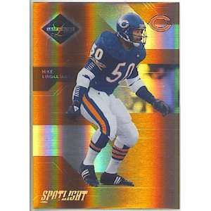 2005 Leaf Limited Bronze Spotlight 134 Mike Singletary