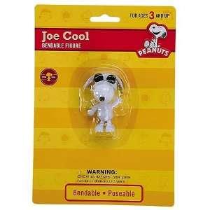 Peanuts Joe Cool Snoopy Bendable Figure Toys & Games