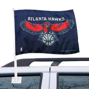 NBA Atlanta Hawks 11 x 15 Car Flag