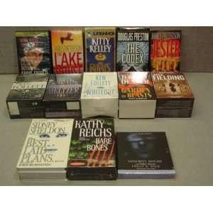 13 Penquin, Time Warner, et.al. Cassette Audiobooks